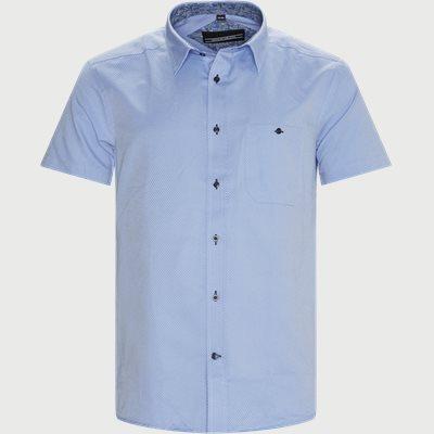 Brais Kortærmet Skjorte Regular | Brais Kortærmet Skjorte | Blå